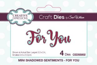 Mini Shadowed Sentiments - For You